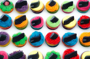 Selection of cupcakes by Tiers of Happiness