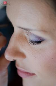 Bridal makeup photography at Wasing Park