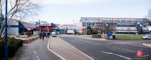 Entrance to Birmingham NEC exhibition halls
