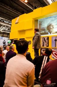 Joe McNally at the Photography Show 2014 Nikon stand