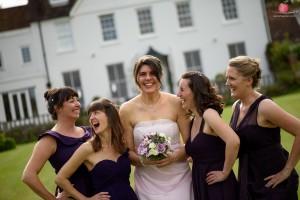 Bridesmaids shot with Nikon D810