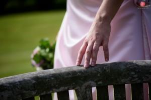 Bride's hand shot with Nikon D810