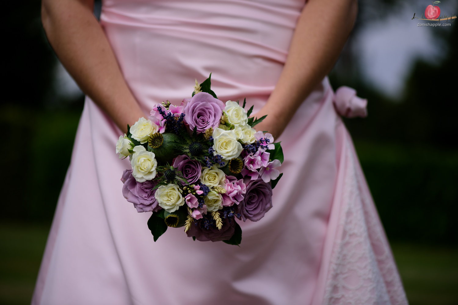 Bridal bouquet shot with Nikon D810