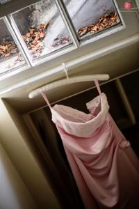 Pink wedding dress shot with Nikon D810