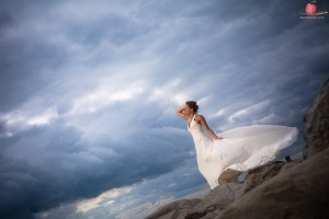 Ilona - trash the dress - milford on sea (3)