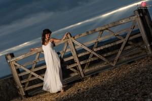 Ilona - trash the dress - milford on sea (5)