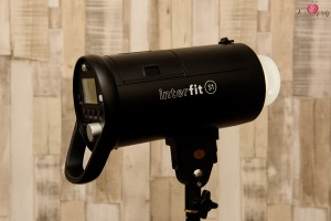 Full profile shot of Interfit S1 monolight flash unit