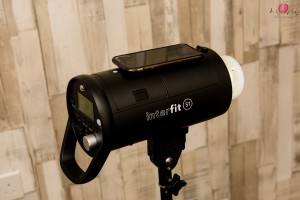 Interfit S1 flash units - as easy as an iPhone :)